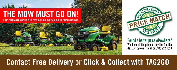 The Mow Must Go On - Explore our Contact Free Delivery & Collection Options