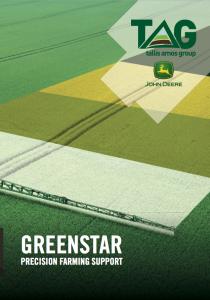 Greenstar - Precision Farming Support