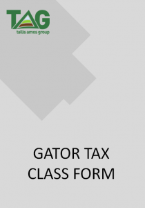 Gator Tax Form