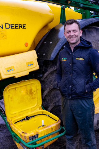 """Steve Miller; """"Having our own sprayer is absolutely the right decision."""""""