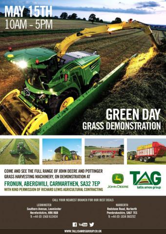 Green Day Grass Demonstration