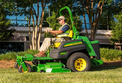 John Deere zero-turn mower