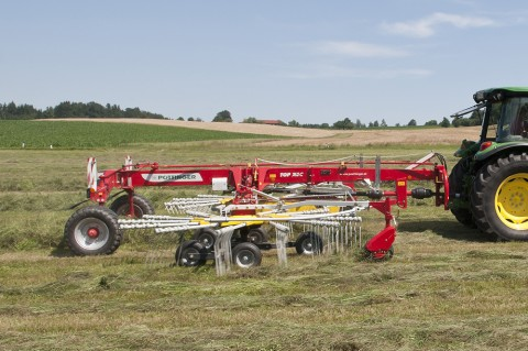 With Multitast, Pottinger's range of Rakes are deemed by the DLG as having the lowest losses and cleanest ratings of any comparable machine