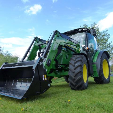 Quicke Tractor